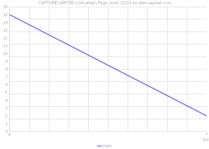 CAPTURE LIMITED (Gibraltar) Page visits 2020